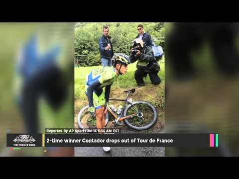 2-time Winner Contador Drops Out Of Tour De France - TOI