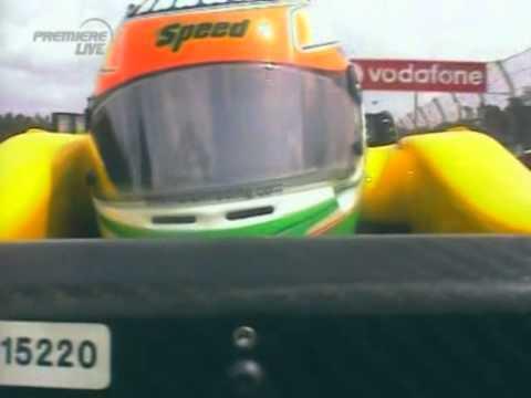 F1 Hockenheim 2005 Q - Narain Karthikeyan Onboard Lap