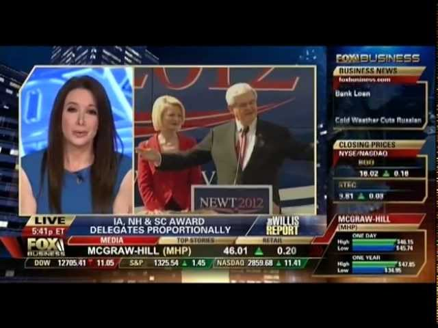 Carol Roth on Donald Trump Endorsement Newt Gingrich Willis Report Fox