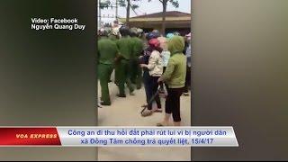 Vụ Đồng Tâm: 'báo chí nhà nước lúng túng, quan chức phách láo'