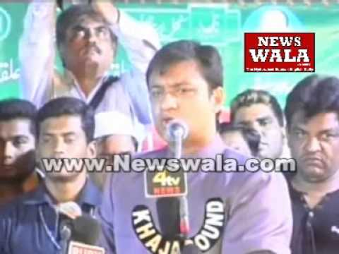 Akbaruddin Owaisi's speech in a Jalsa at Hafiz Baba Nagar