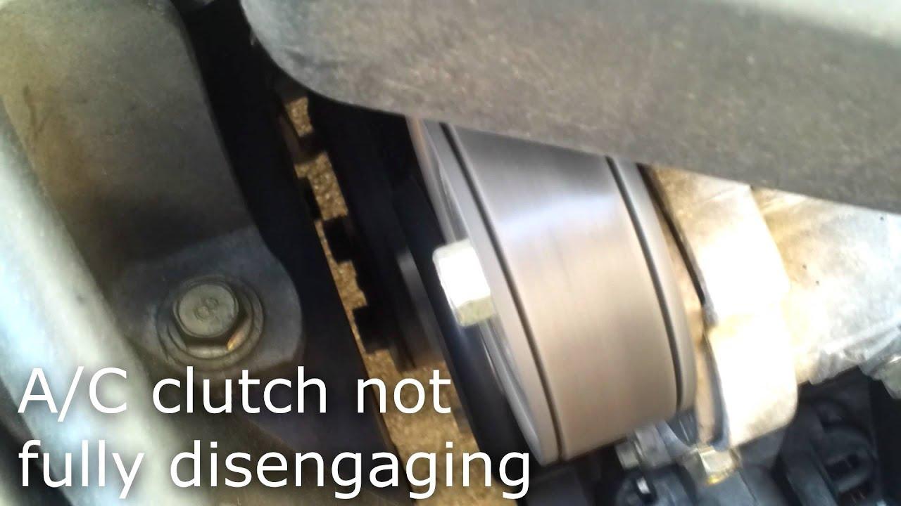 tecumseh condenser wiring diagram mazda 3 a c compressor clutch failure youtube  mazda 3 a c compressor clutch failure youtube