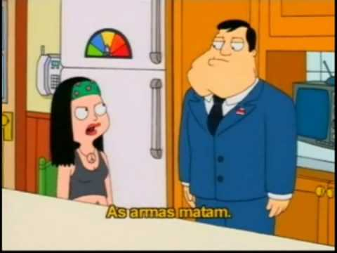 American Dad - Guns don't kill people