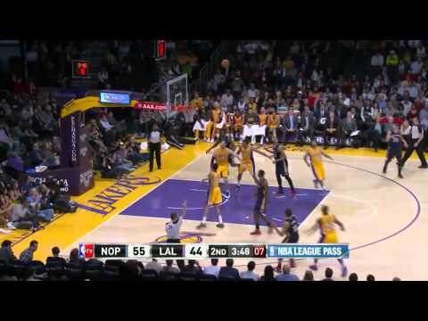 New Orleans Pelicans vs Los Angeles Lakers | March 4, 2014 | NBA 2013-14 Season