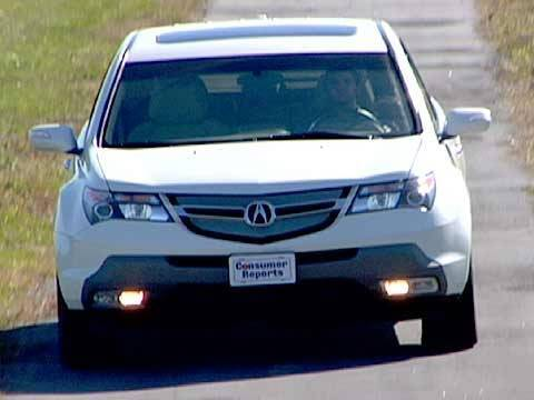 Acura  Reviews on 2007 2013 Acura Mdx Review From Consumer Reports   Youtube