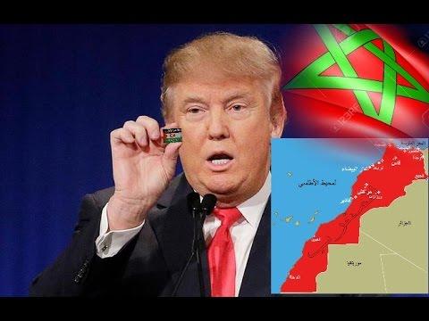 هذا ما قاله ترامب عن مغربية الصحراء !