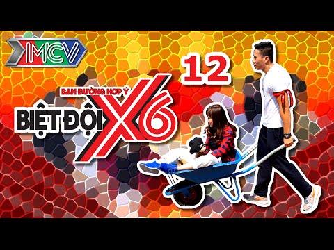 Biệt Đội X6 - Tập 12 | Sáu anh em siêu nhân đại náo phố tây Bùi Viện | 010416.