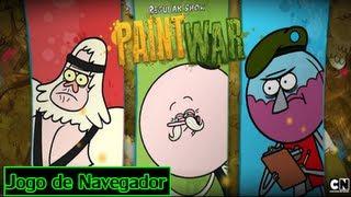 Jogo De Navegador : Regular Show Paint War