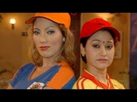 Hot Babita ji, Daya & Anjali dancing in rains on the sets Tarak Mehta Ka Ooltah Chashma
