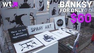 Banksy Pop Up Art Sale | What's Trending Now