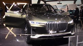 The Largest SUV Ever: BMW X7 | Frankfurt auto show 2017