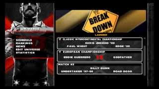 Wwe 13 Wii Save All Unlocked + 19 CAWS