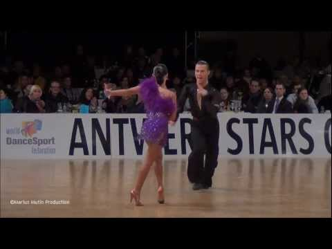 12th Antwerp Stars Cup - GrandSlam Latin - solo Samba - Andrey Zaytsev &amp; Anna Kuzminskaya