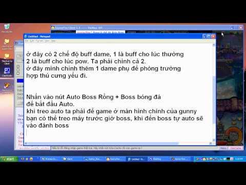 Gunny Fire - Auto boss VIP + Siêu nhanh