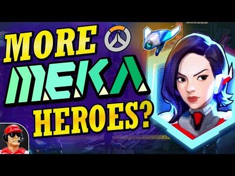 Analyzing MEKA Squad's New Hero Potential (Overwatch New Hero Candidate Analysis)