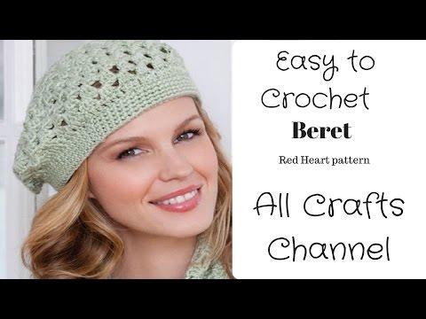 Gorros boina tejidos a crochet - Imagui