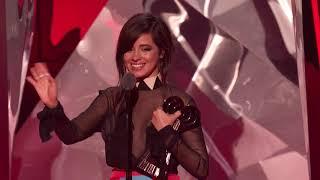 Camila Cabello Acceptance Speech - FanGirls Award | 2018 iHeartRadio Music Awards
