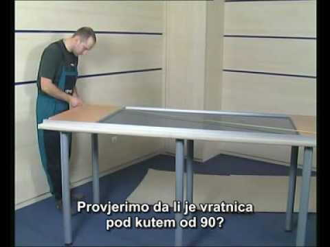 Prikaz montiranja COSMO i SMART sistema za klizna vrata