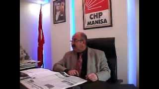 CHP MANİSA İL BAŞKANI CAHİT KAPLAN'DAN ÇOK SERT AÇIKLAMALAR