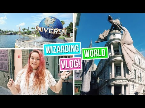 Universal Studios VLOG: Wizarding World of Harry Potter