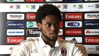 """Luiz Adriano: """"Happy to have signed for AC Milan"""" 