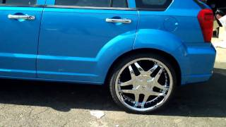 Dodge Caliber CVT Vs FX 35 STOCK videos