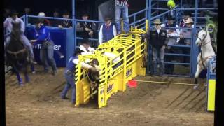 2015 NFR TEAM ROPING ROUND 10