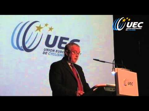 UEC Exceptional Ordinary General Assembly - Zurich (SUI): speech of  Pat McQuaid