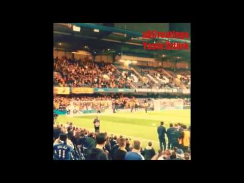 Didier Drogba at Stamford Bridge - Great Fans of Galatasaray supports him | Chelsea vs. Galatasaray