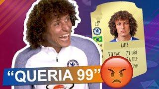 Jogadores REAGINDO às suas CARTAS no FIFA 18! 😂