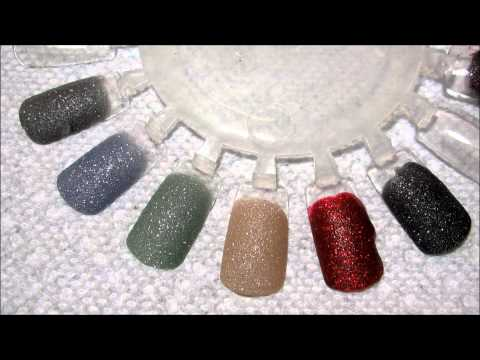 Zoya Pixie Dust Swatches & Liquid Sand Comparison