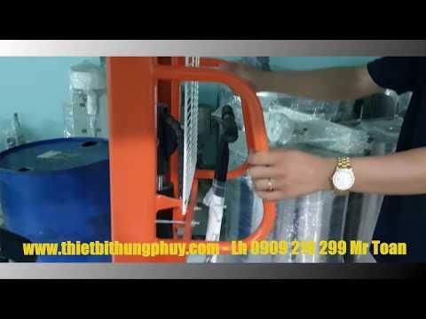 Xe nâng quay đổ thùng Phuy COT 035 Lh 0909 216 299