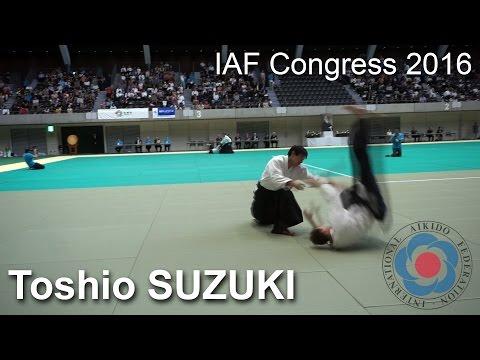 Demonstration by Suzuki Toshio - 12th IAF Congress in Takasaki