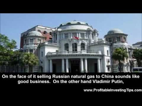 Selling Russian Natural Gas to China