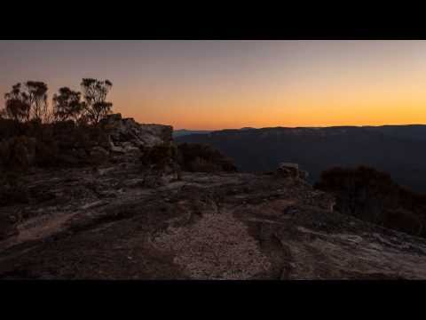 A stunning time-lapse video of Blue Mountains National Park