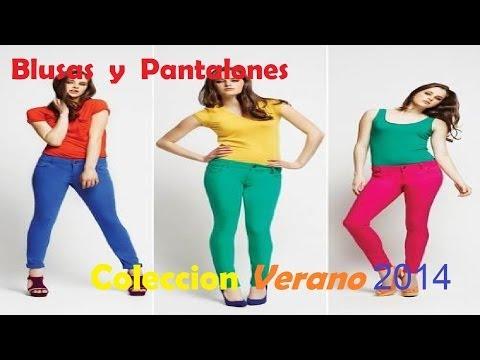 Blusas y Pantalones de Moda- Coleccion Verano - Octubre 2014