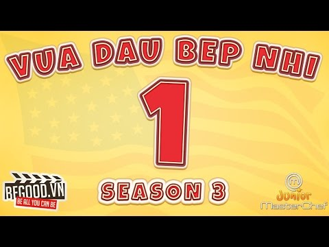[Full màn hình] Vua Đầu Bếp Nhí Mỹ Mùa 3 Tập 1 - Masterchef Junior US Season 3 Episode 1