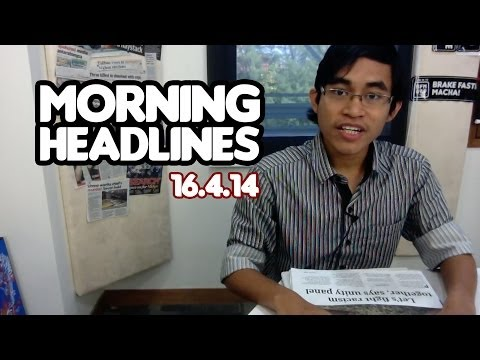 Malaysians Are Racist Hooligans? [Morning Headlines 16.4.14]