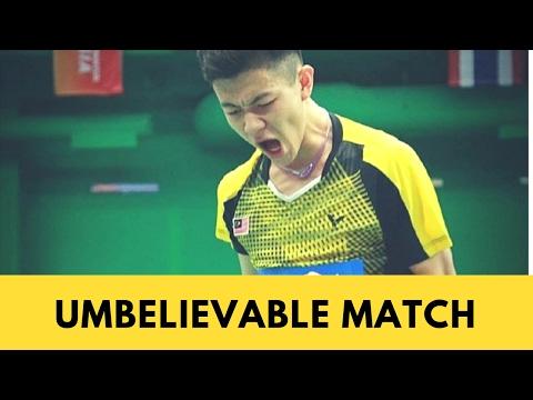 UNBELIEVABLE match-Lee Zii Jia vs K Wangcharoen