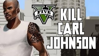 GTA V: KILL CARL JOHNSON (Secret Mission)