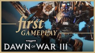 Warhammer 40000: Dawn of War III - Pre-alpha Gameplay Footage