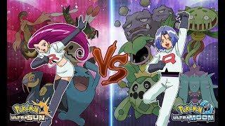 Pokemon Ultra Sun and Ultra Moon: Jessie Vs James (Team Rocket Battle)