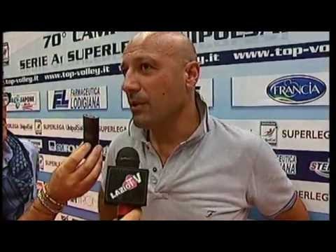 Copertina video Gianrio Falivene, presidente di Latina dopo il debutto in Superlega