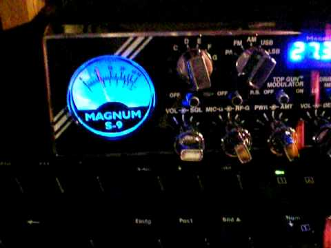 MAGNUM S-9 vs. PRESIDENT ADAMS CB-RADIO