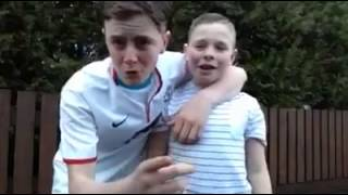 Irish kid talking shite