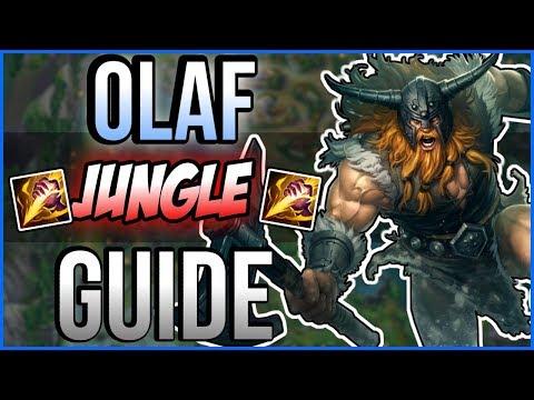 Educational Olaf Jungle Guide - League of Legends Season 8