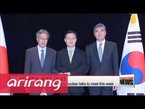 Representatives from six party nuclear talks discuss response measures against N. Korea's nuke test