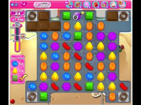 Candy Crush Saga Level 165