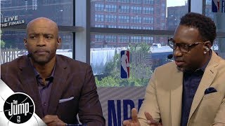 Vince Carter, Tracy McGrady choose which all-time greats they would play with   The Jump   ESPN