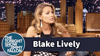 Blake Lively's Daughter Says Sit in a Funny Way